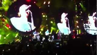Coldplay LIVE in Melbourne 2012 - Yellow