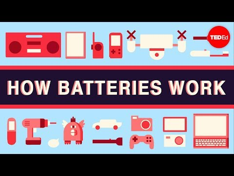 How batteries work - Adam Jacobson - YouTube
