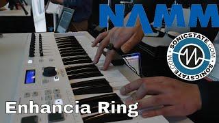 NAMM 2018: Enhancia Ring Midi Controller