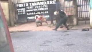 Bandido troca tiro com a Polícia em Belém