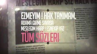 Old G - Safkan ( 2016 / Kinetik Tipografi )