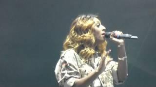 Alexandra Burke @ Hyde Park BT Live - Hallelujah (02/08/2012)