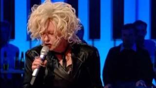 "Cyndi Lauper ""Just Your Fool"" Jools Holland"
