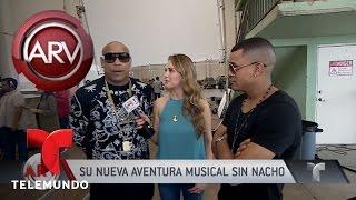 Chyno graba video junto a Wisin y Gente de Zona | Al Rojo Vivo | Telemundo