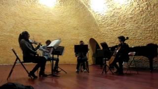 El Tango Roxanne (from 'Moulin Rouge') - cover Cuarteto de cuerdas frotadas 'Nuevo Capriccio'