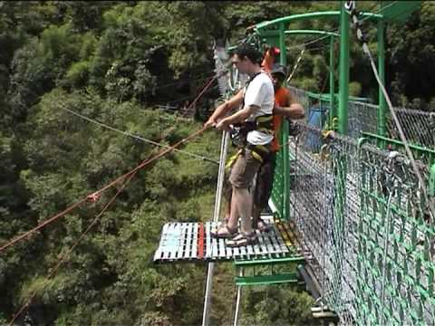 My 170m rope swing in Nepal bungee, high quality.