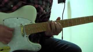 Flying In A Blue Dream -  Guitar Solo Cover / Joe Satriani