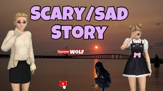 Avakinlife: scary😱/ sad 😞 STORY!