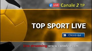 TOP SPORT LIVE  Conduce Nicola Donato, ospite l'assessore allo sport Dott. Michele Gandolfo