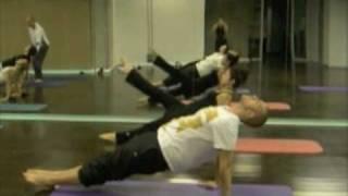 Paula Pantano con Michael King en Estambul Pilates coreografia