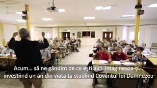 Word of Life Hungary Bible Institute Promo - Romanian Subtitles