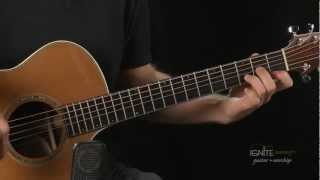 New Chord Learn D minor - Learn Beginner Acoustic Guitar Lesson
