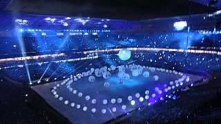A Terra é Azul! Inauguração Arena do Grêmio