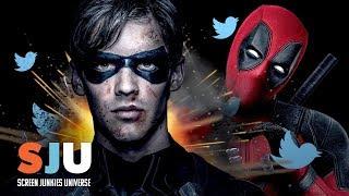 DC Takes Shot at Marvel's Deadpool - SJU