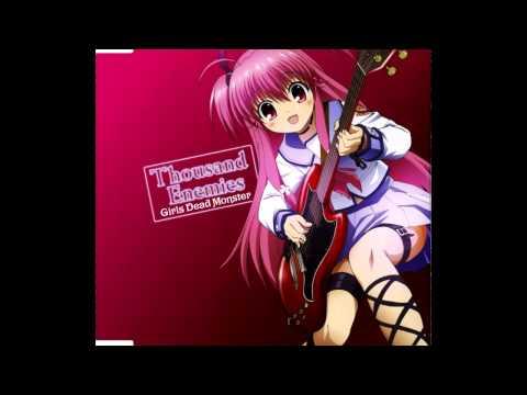 girls-dead-monster-thousand-enemies-kanade-tachibana