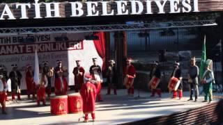 Mehterân plays Genç Osman, Istanbul, July 2014