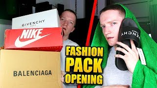 4700€ FASHION PACK OPENING (Balenciaga, Givenchy..)