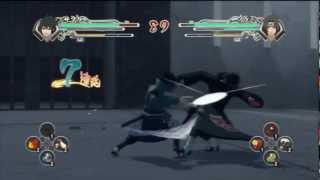 Naruto Ninja Storm Generations - Sasuke (Susanoo) VS Itachi