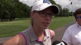 Katelyn Chipman Speaks With The Media Following The Michigan Women's Amateur