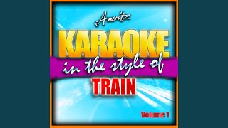 All American Girl (Instrumental Version) (In The Style Of Train)