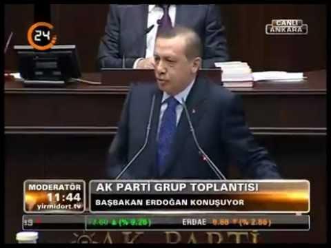 Başbakan Erdoğan. TBMM Grup Toplantısı konuşması. [6 Mart 2012]