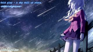 A sky full of stars Nightcore