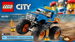LEGO City Great Vehicles 2018 MONSTER TRUCK 60180 Лего Сити Монстр-трак