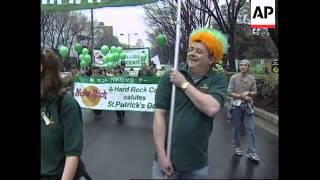 JAPAN: TOKYO: ST PATRICK'S DAY CELEBRATIONS