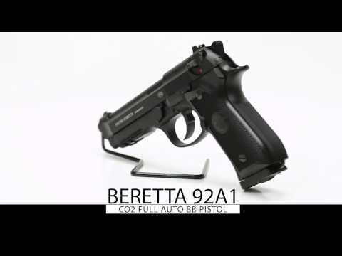 Video: Beretta 92A1 CO2 full auto BB Pistol | Pyramyd Air