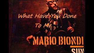 Mario Biondi SUN - What Have You Done To Me . . .