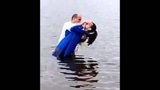 batismo nas águas e com o Espirito Santo igreja universo em Cristo