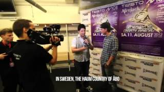 Hilarious AVICII interview reporter fail