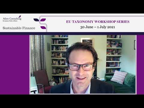 Opening Presentation & Q&A – The Work of the Platform on Sustainable Finance – Nathan Fabian, Chair of the Platform on Sustainable Finance and Chief Responsible Investment Officer, Principles for Responsible Investment