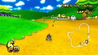 Mario Kart Wii Online Races #6 Moo Moo Meadows