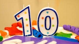 Youtube'da 10.Yılımı Kutluyorum. Destekleriniz İçin Teşekkür Ederim.