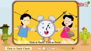 Tick A Tock Clock - Meow Meow TV