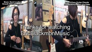Emadd9 Eric's Easy Exotic Chords #24  Chord TABS & Theory EricBlackmonGuitar HD