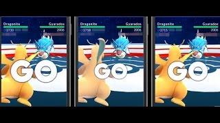 Dragonite comparison(Dragon Pulse VS Hyper Beam VS Dragon Claw) 【Pokemon go】