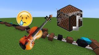 Minecraft: Sad Violin Theme with Note Blocks