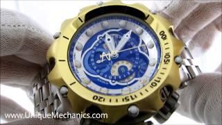 6795e7cb715 invicta 16808 venom hybrid chronograph blue dial mens stainless steel watch