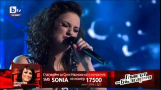 Соня Иванова - Run To You - Гласът на България
