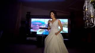 Something just like this cover, bride singing, emotional wedding scene, luxury wedding