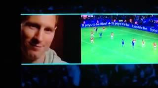 Messi parle de mahrez width=