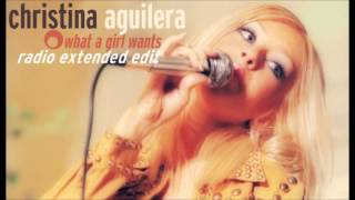 Christina Aguilera - What A Girl Wants (Radio Extended Edit)