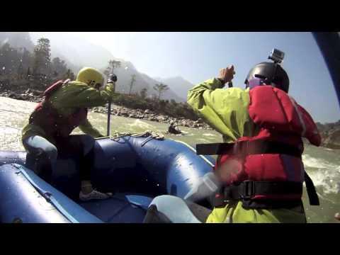 Whitewater rafting NEPAL 10Feb2013