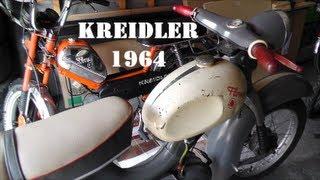 """KREIDLER """"Eiertank"""" - Florett Mokick 1964"""