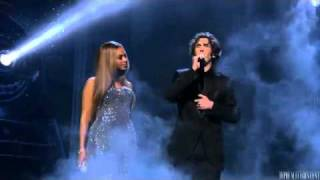 beyonce and josh groban   when you believe live 360