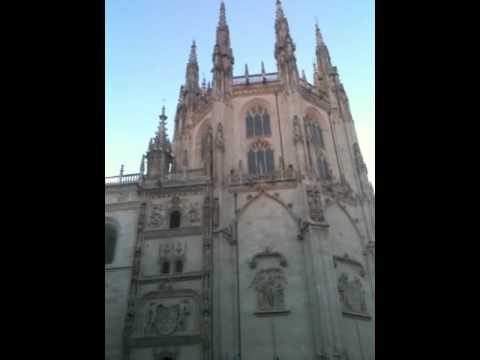 Short Burgos Cathedral Tower