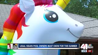Legal issues pool owners must know for this summer