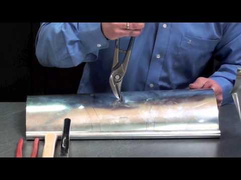 Montáž žlabového kotlíku